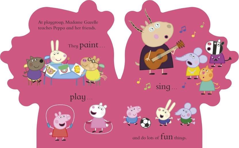 Peppa Pig: All About Peppa: A Peppa-shaped board book 1