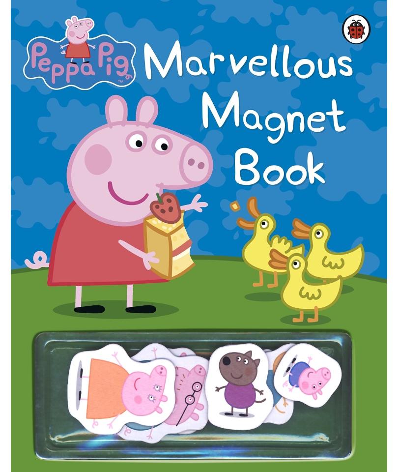 Peppa Pig: Marvellous Magnet Book (Ciltli) 0