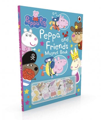 Peppa Pig: Peppa and Friends Magnet Book (Ciltli)