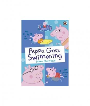 Peppa Pig: Peppa Goes Swimming Sticker Story Book