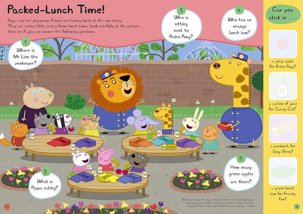 Peppa Pig: Yum! Yum! Yum! 1
