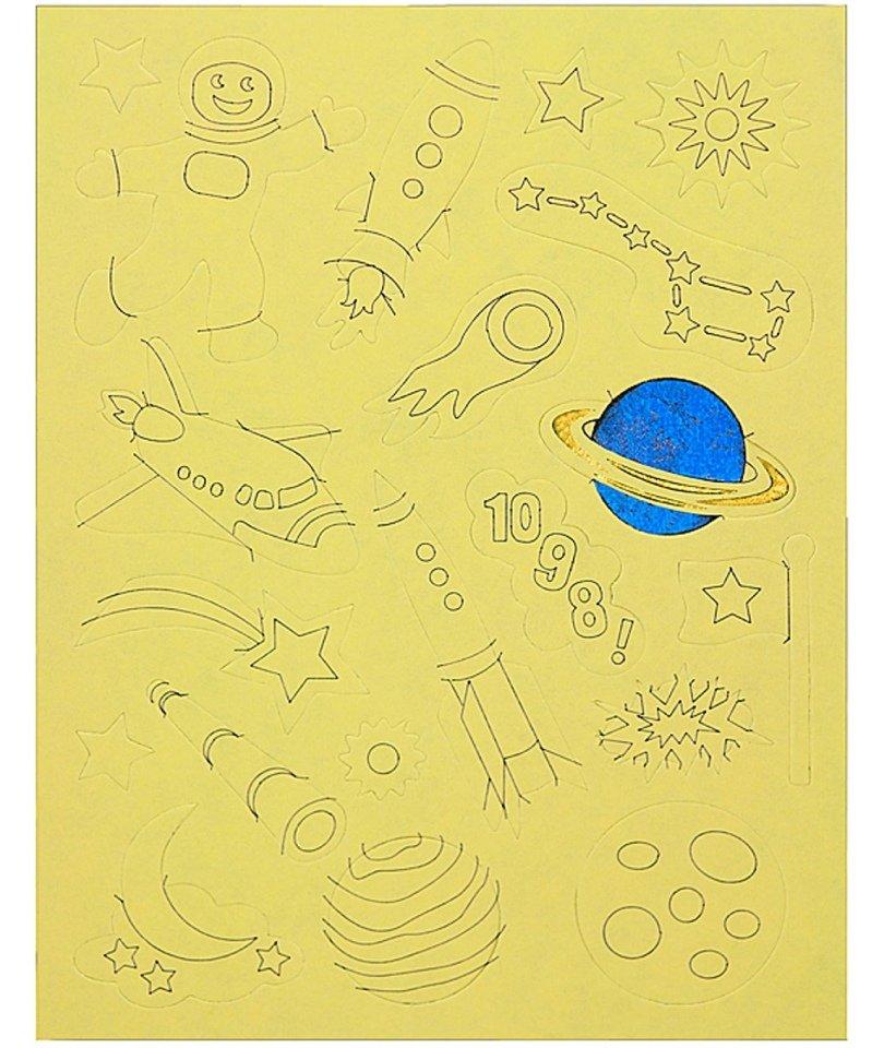 Peter Pauper- Foil It Outer Space 2