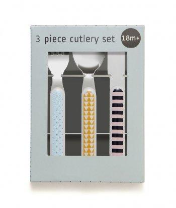 Petit Monkey Çatal & Kaşık & Bıçak Set - Bear Drops