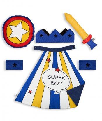 Pikabu Super Boy Çocuk Pelerin Seti