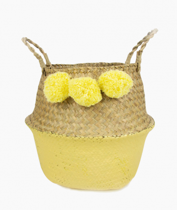 Ponpon Sepet Sarı