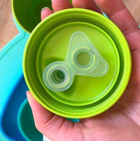 Re-Play Akıtmaz Alıştırma Bardağı - Su Yeşili 1
