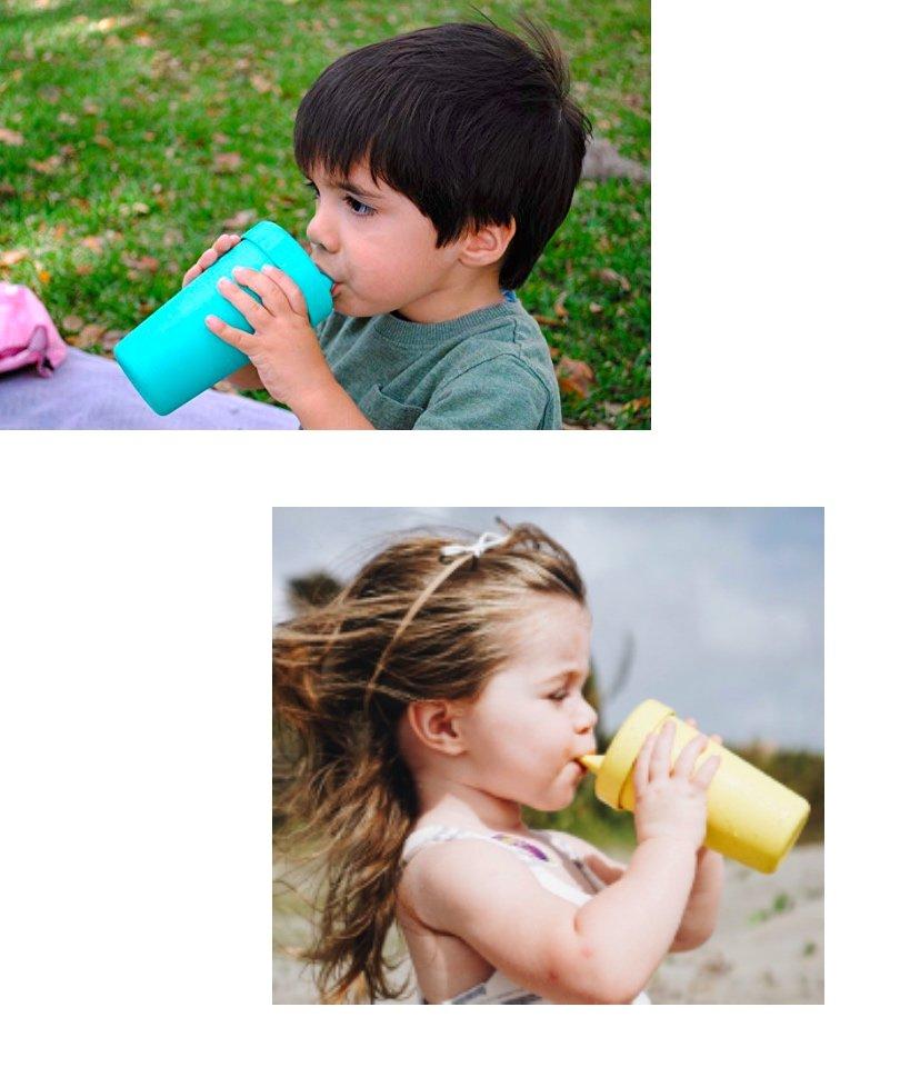Re-Play Akıtmaz Alıştırma Bardağı - Su Yeşili 3