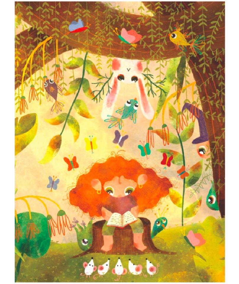 'Reading' Poster - Tüm geliri SMA'lı çocuklara