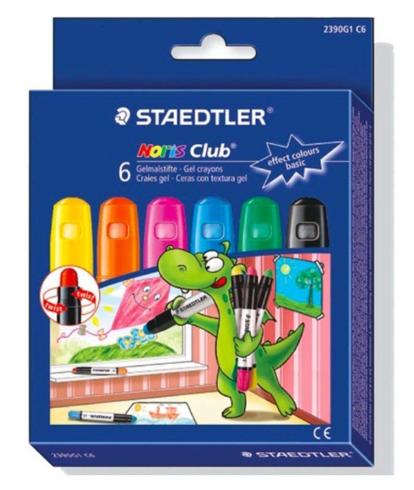 Staedtler Jel Pastel Boya - Basic Colours