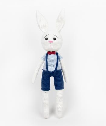 Papyonlu Tavşan Amigurumi Oyuncak