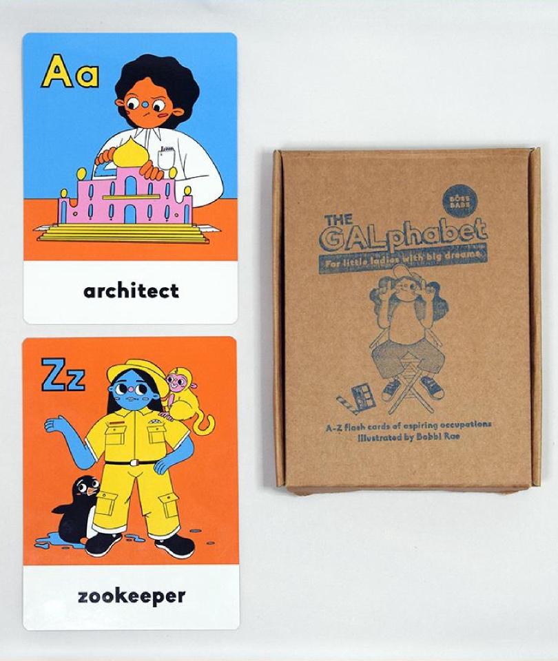 The GALphabet - Bebek/Çocuk Kartları 0