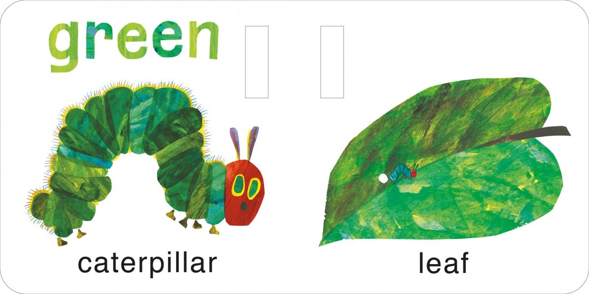The Very Hungry Caterpillar's Buggy Book 1
