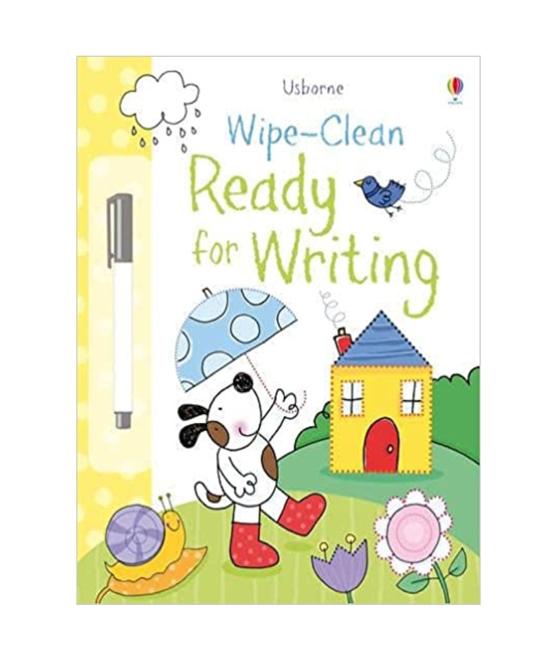 Usborne  Wipe-Clean Ready for Writing 0
