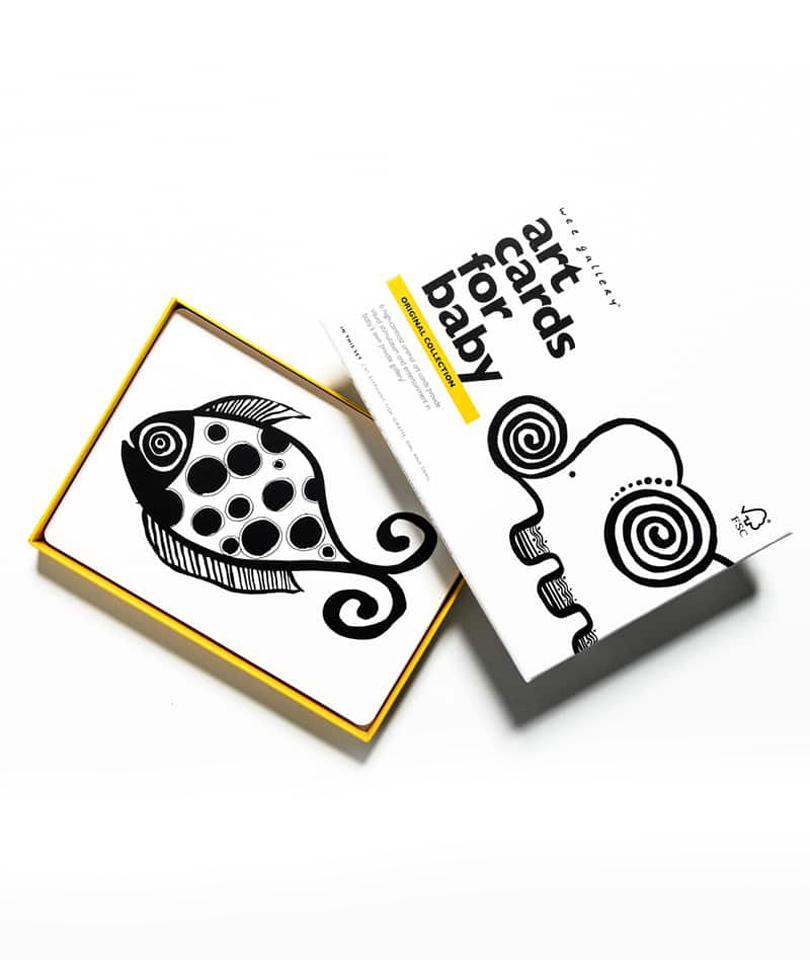 Wee Gallery Bebek Gelişim Kartları - Original (Baby Art Cards)
