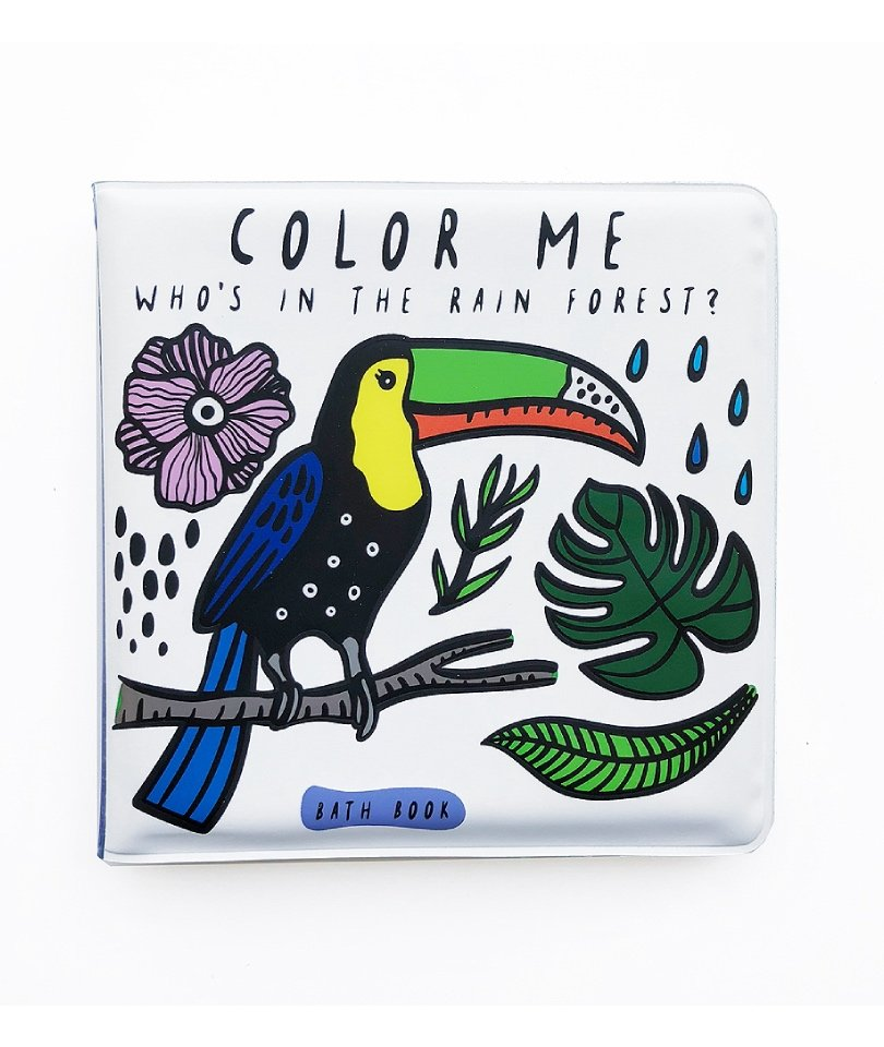 Wee Gallery Banyo&Aktivite Kitabı Kuş (Suda renk değiştirir)