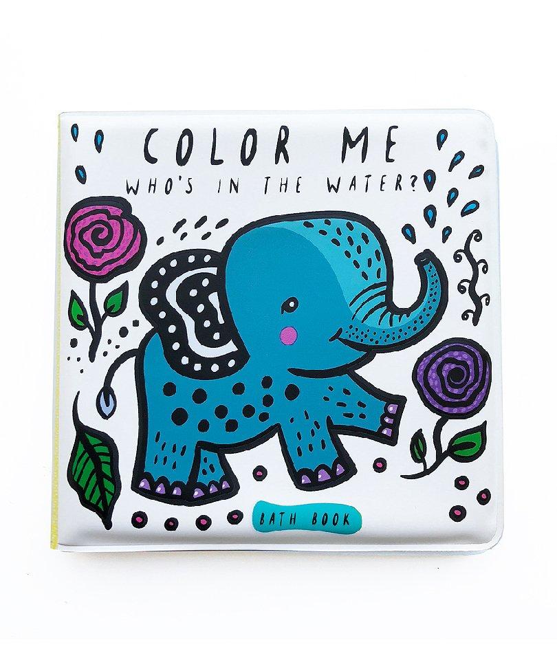 Wee Gallery Banyo&Aktivite Kitabı Fil (Suda renk değiştirir)