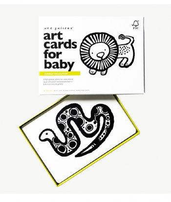 Wee Gallery Bebek Gelişim Kartları - Jungle (Baby Art Cards)