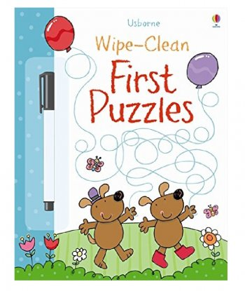 Usborne Wipe-Clean First Puzzles